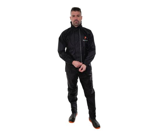 Imagem de Capa roupa de chuva motoqueiro masculina nylon pioneira tam m 0083