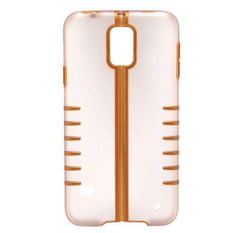 Imagem de Capa Samsung Galaxy S5 Dobravel Dourado Transparente - Idea