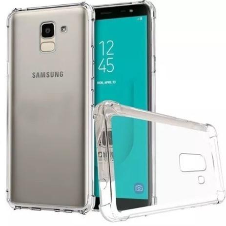 da3668281 Capa Samsung J8 2018 Anti Impacto Transparente - Capinha de Celular ...