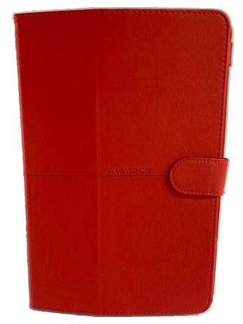 Imagem de Capa Tablet Samsung Galaxy Tab A7 10.4 T500 T505 Magnética Carteira Dobrável Vermelha
