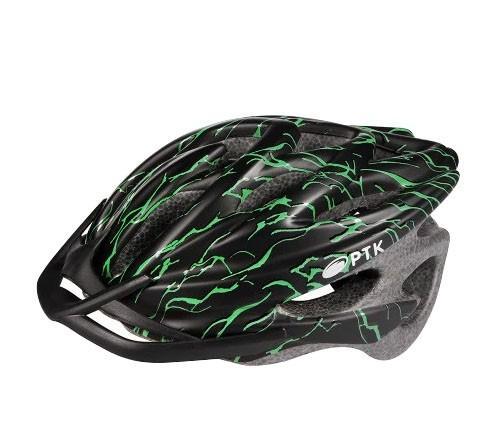 Capacete Adulto Para Ciclismo Runner Com Viseira PTK - Capacete ... c9260ab04cd7f