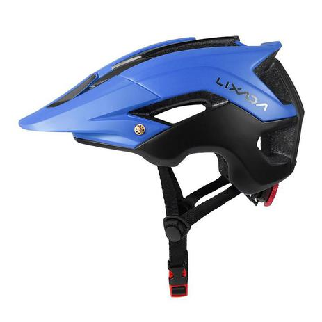 d3c4036cc Menor preço em Capacete Ciclismo MTB Road Bike Mold Lixada Azul/Preto 56 a  62cm