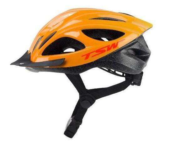 14311232c Capacete ciclismo mtb walk com viseira e sinalizador led tsw ...