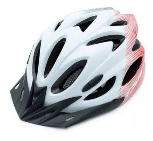 Imagem de Capacete ciclismo tsw raptor i (1) led bike pedal mtb