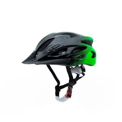 Imagem de capacete ciclismo tsw raptor verde tam 57-61
