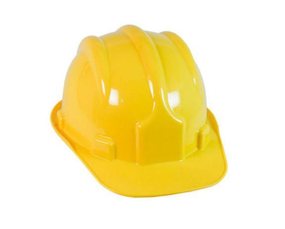 Capacete de Segurança Amarelo com Carneira - PRO SAFETY - Capacete ... 8c7a696d28