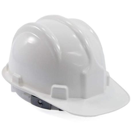 Capacete de Segurança c carneira Plastcor Branco - Equipamento de ... 3e5966e6ac