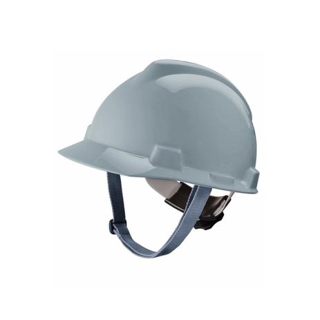 3976de20a3436 Capacete de segurança msa com catraca e jugular - branco - ca 498 ...