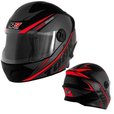 8737571a5dedf Capacete Fechado Moto Acessorios New Liberty Four R8 Esporte Motocicleta  (New Liberty Four R8) - Pro tork