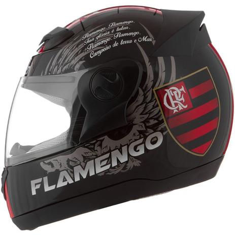 Imagem de Capacete Fechado Oficial Pro Tork Evolution G4 Flamengo