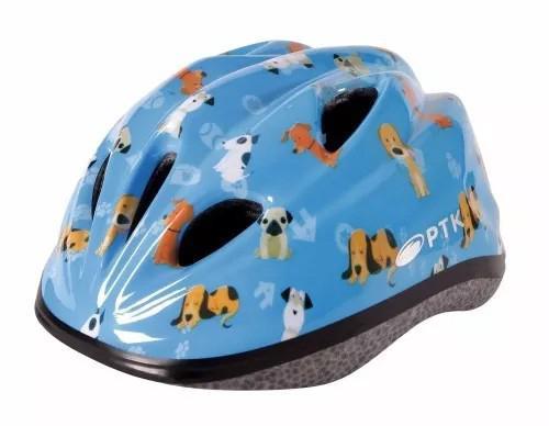Imagem de Capacete Infantil Para Ciclismo Dog Com Regulagem