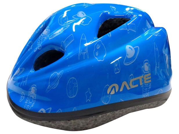 10b71a86a Capacete Infantil para Ciclismo Tam. U - Acte Sports Kids A50 ...