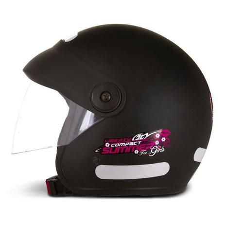 Imagem de Capacete Moto Aberto Feminino Pro Tork Compact Summer For Girls