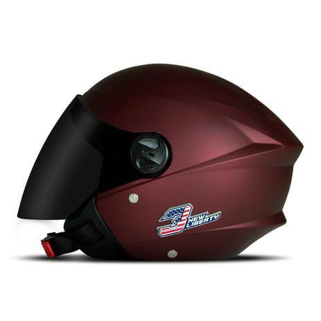 Imagem de Capacete Moto Aberto Pro Tork New Liberty Three Elite + Viseira Fumê