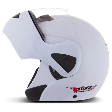 Imagem de Capacete moto escamoteável robocop pro tork v-pro jet