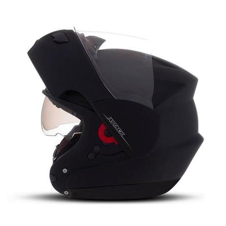 Imagem de Capacete Moto Robocop Pro Tork Attack Solid