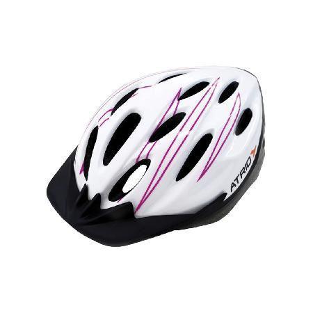 Capacete para bike branco rosa tamanho m bi124 - Atrio - Capacete ... 6c8e770518fae