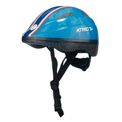 1985c593d1 Capacete para Ciclismo Infantil Azul Estrela - PP - Atrio - Atrio ...
