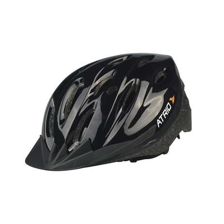Imagem de Capacete para Ciclismo MTB Alças Ajustáveis e 19 Entradas de Ar Preto Atrio Tam. G - BI003
