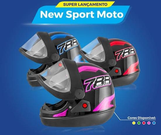 Imagem de Capacete pro tork sport moto