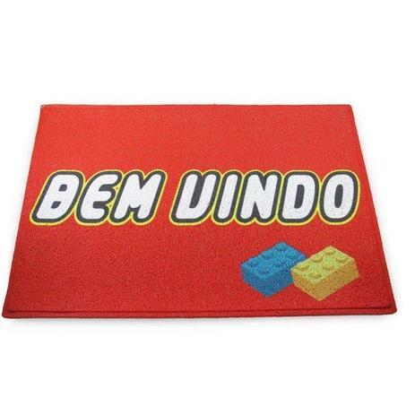 46d058021a9824 Capacho Lego Bem Vindo - L3 store