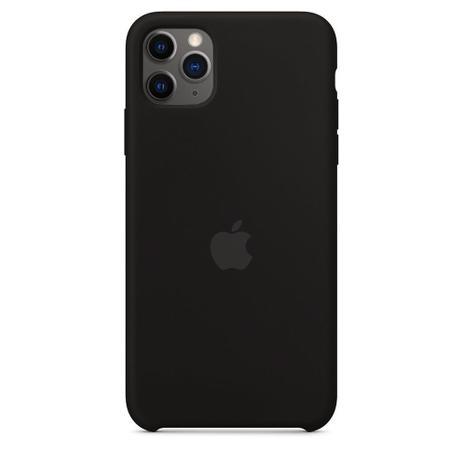 Imagem de capinha, Capa Silicone Case iPhone 11 Pro Max Preto