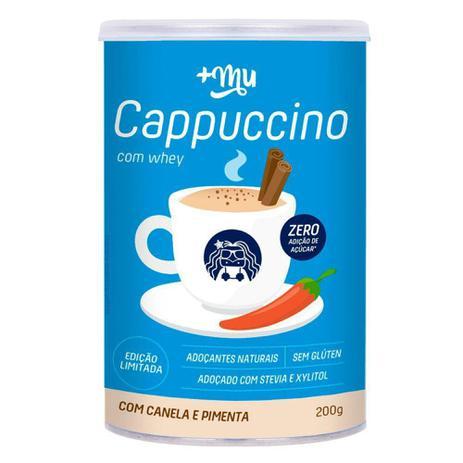 Imagem de Cappuccino proteico a base de whey  +um - 200g - Mais Mu