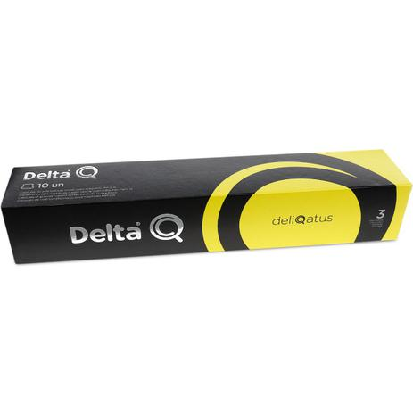 Imagem de Cápsula de Café Delta Q Deliqatus Intensidade 3 - 10 Cápsulas