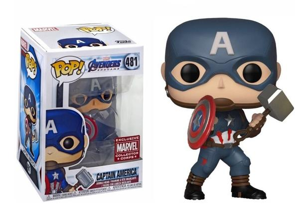 Imagem de Captain America - Funko Pop - Marvel - Avengers - Collectors Corps Exclusive - 481