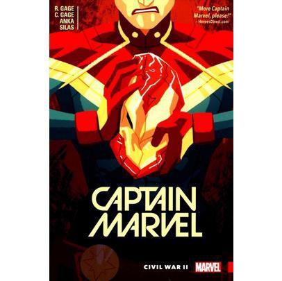 Imagem de Captain Marvel - Captain Marvel, Volume 2 - Civil War II