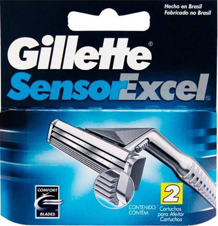 Imagem de Carga Gillette Sensor Excel c/ 2 unidades