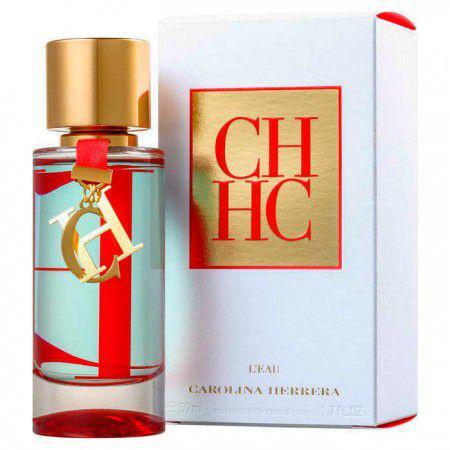 82380b6c58 Carolina Herrera CH HC L\EAU Perfume Feminino EDT 50ml - Perfume ...