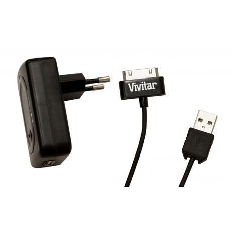 dafb2ec52ab Carregador AC 110 V para iPad, iPhone e iPod - VIVITAR - Carregador ...