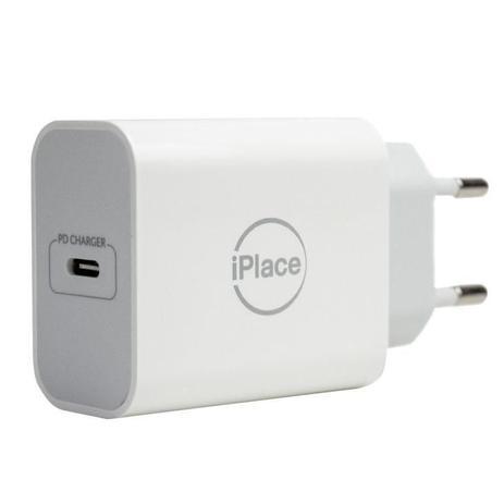 Imagem de Carregador de Parede, USB-C, 20W,  iPlace