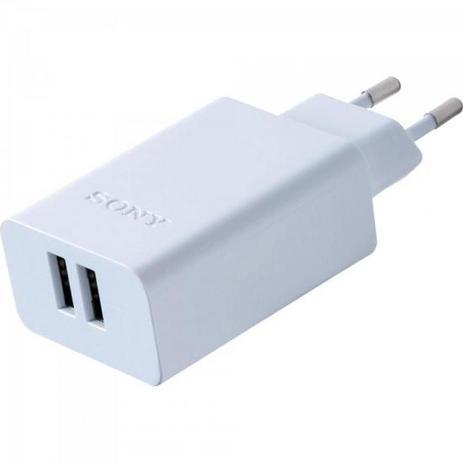 Imagem de Carregador de Tomada CP-AD2M2 com 2 saídas USB 3.0A SONY