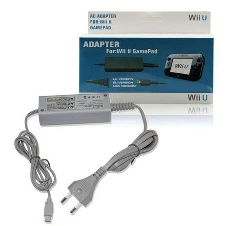 Imagem de Carregador Nintendo Wii U Para Game Pad Fonte 100-240v Cinza