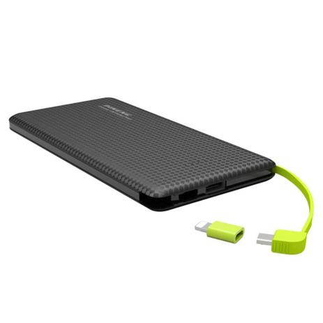 566506ffa Carregador Portátil Celular power bank slim 5000mah Bateria Externa Pineng  original