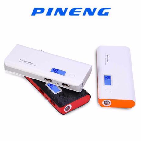 Imagem de Carregador portatil pineng 10.000mah  compativel iphone 6, 7 e 7 plus