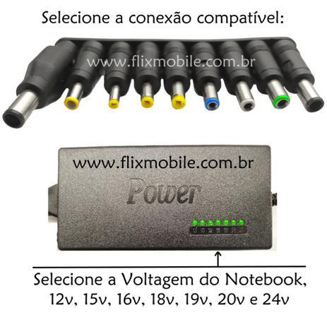 Imagem de Carregador Universal Biivolt para Notebook STI