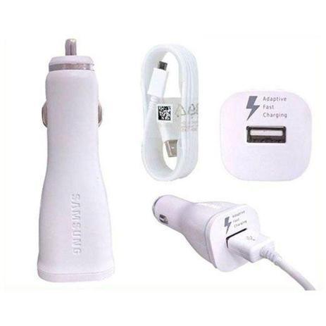 Imagem de Carregador Veicular Samsung Fast Charge Micro usb Branco