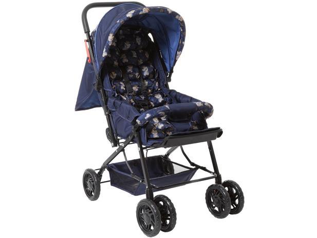 19a1657646 Carrinho Berço de Bebê Stillo Ursinho Reclinável - 3 Posições para Crianças  até 15kg