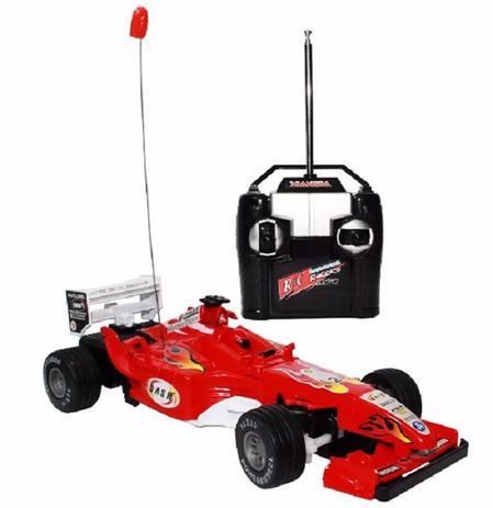 Imagem de Carrinho Carro Controle Remoto Formula 1 F1 Corrida