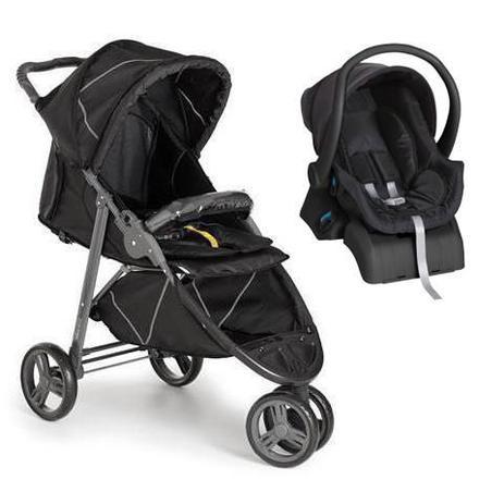 Carrinho de Bebê Cross Galzerano Black 3 rodas + Cocoon ...