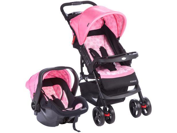 Carrinho de Bebê Passeio Cosco Travel System - Moove para Crianças até 15kg  com Bebê Conforto 8140002da10
