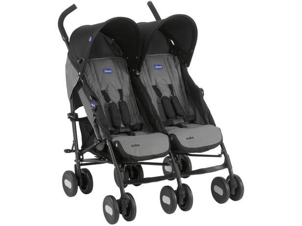 Imagem de Carrinho de Bebê Passeio Gêmeos Chicco Echo Twin