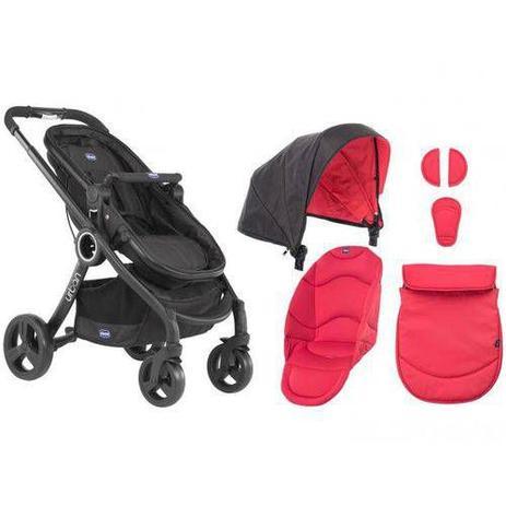 Imagem de Carrinho de Bebê Urban Plus + Color Pack Red - Chicco