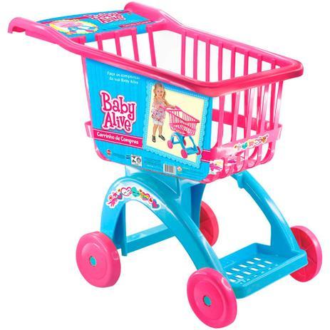 37c5bfb212 Carrinho de Compras Baby Alive - Líder Brinquedos - Mercadinho ...