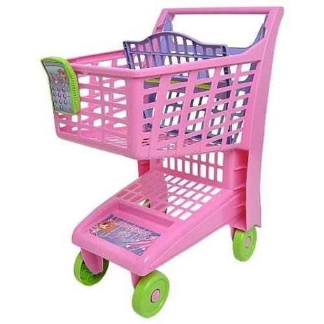 Carrinho de Compras Market Rosa Magic Toys - Mercadinho - Magazine Luiza 7a2445a356a