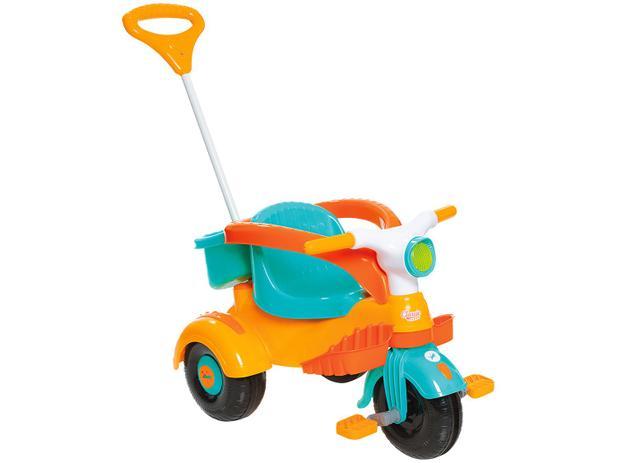 Carrinho de Passeio Infantil a Pedal - Velocita Classic com Empurrador Calesita
