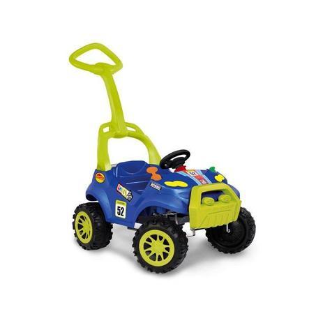 Imagem de Carrinho de Passeio Smart com Pedal Azul Bandeirante 463